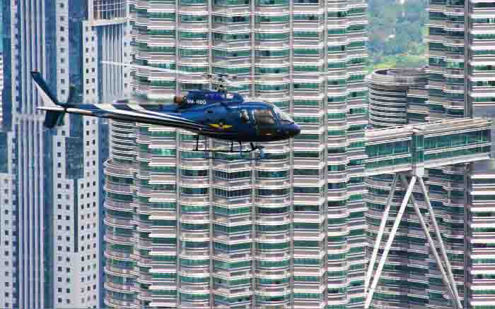 Kl city aerial and joyride tour 30 minutes malaysia tour packages