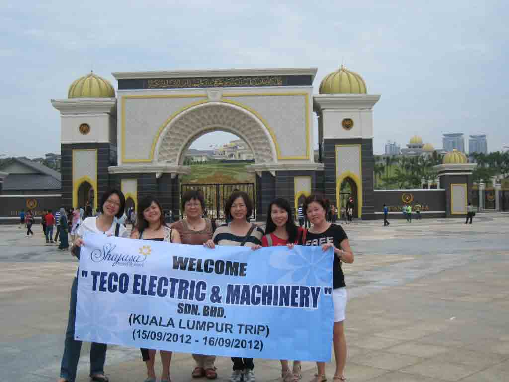 Shajasa Welcomes TECO ELECTRIC & MACHINERY SDN BHD team to Kuala Lumpur (Company Excursion) Sep 2012
